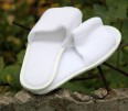 Terry slippers for hotels, hotel disposable slippers, slippers with logo and sneakers for a sauna and swimming pool